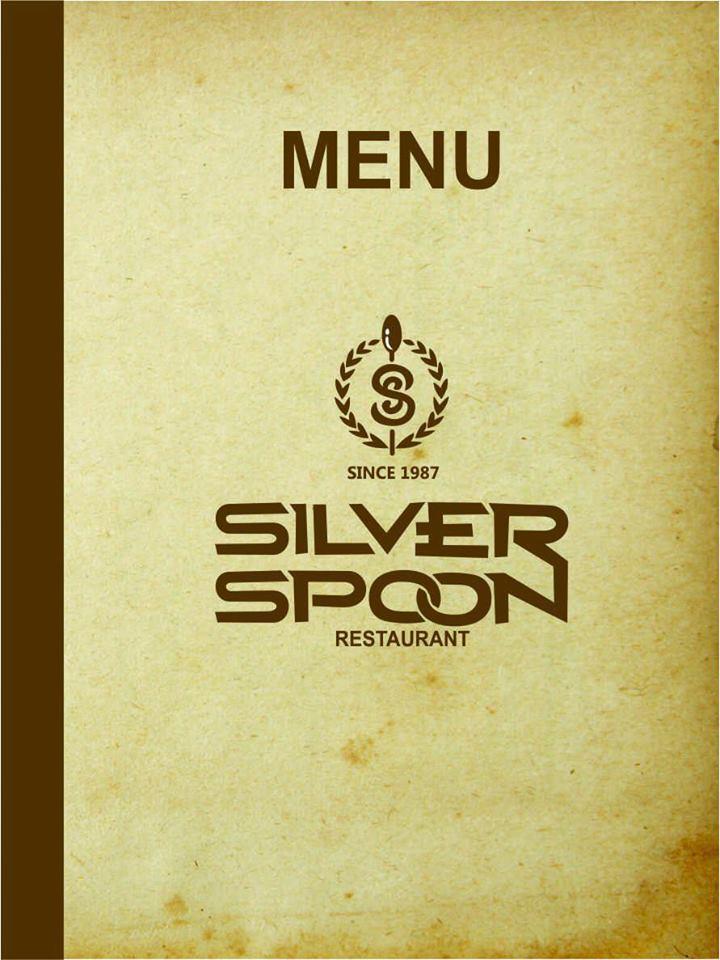 Silver Spoon Menu