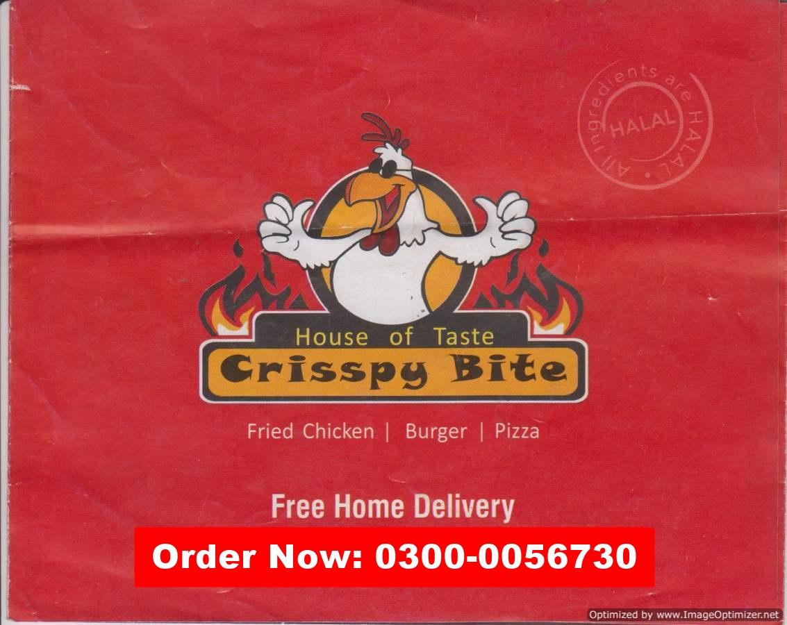 Crisspy Bites Menu